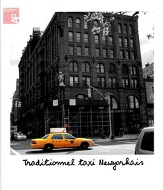 Traditionnel taxi newyorkais