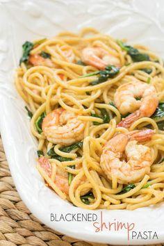 Blackened Shrimp Pasta Recipe on Yummly
