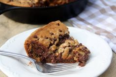 In a Southern Kitchen | Chocolate Chip Cookie Pie | http://inasouthernkitchen.com