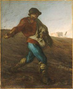 O semeador, 1850 Jean-François Millet (França, 1814-1875) óleo sobre tela, 101 x 82 cm Museum of Fine Arts, Boston