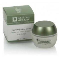 Crema de Noche Nutritiva Bio 50 ml.  Absolute Organic
