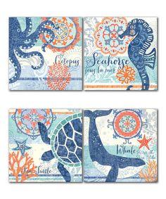 North Shore Panel - Set of Four #zulily #zulilyfinds