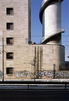 via hagen stier - Angiolo Mazzoni - Rome's Termini Railway Station - under fascism