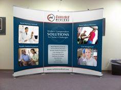 carlisle medical trade show booth
