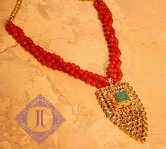 Perfect necklace to add colour and bling to your look!!  Price - 10500/-  Place your order by sending us an email to justjewellery08@gmail.com