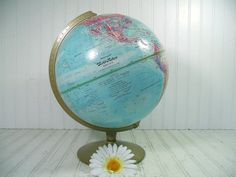 Vintage Replogle World Nation Series 12 Inch Globe by DivineOrders, $39.00
