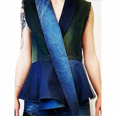 INDACO ~ #indaco #couture #jeans #pacth #patchwork #handmade #tailoring #tradition #showroom #geminianirappresentanze #bologna #fashion #vogue #blue #donna #style #women #womanfashion #chic #runway #work #job #love #emiliaromagna #italy #catwalk #madeinitaly