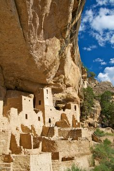 The National Park known as Mesa Verde, Spanish for green table, offers a spectacular look into the lives of the Ancestral Pueblo people who made it their home for over 700 years, from A.D. 600 to 1300.