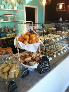 So many goodies at Lila and Sage Cupcake Shop, in Murphys