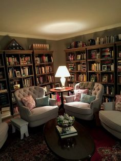 Incredible Home Libraries That Will Blow Your Mind . - Bozica Makaric - Incredible Home Libraries That Will Blow Your Mind . Incredible Home Libraries That Will Blow Your Mind ⋆ amplifiermountain. Library Bedroom, Home Library Rooms, Home Library Design, Home Libraries, Home Office Design, Cozy Bedroom, Library Ideas, Bedroom Ideas, Living Room Colors
