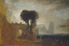 Archway with Trees by the Sea, 1827-28 JMW Turner