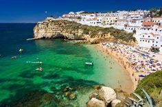 algarve portugal paysages europe