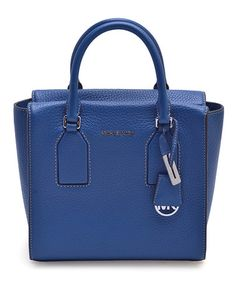Look what I found on #zulily! Steel Blue Selby Leather Satchel #zulilyfinds
