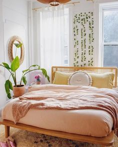 bohemian bedroom 518265869617703730 - We have more than hundreds throw pillows / cushions, like ✺velvet pillows ✺bohemian pillows ✺nordic design pillows , you will definitely love these🌈 Source by melolac Bohemian Bedrooms, Cozy Bedroom, Dream Bedroom, Bedroom Simple, Modern Bedroom, Minimalist Bedroom Boho, Bedroom Apartment, Master Bedroom, Minimalist Pillows