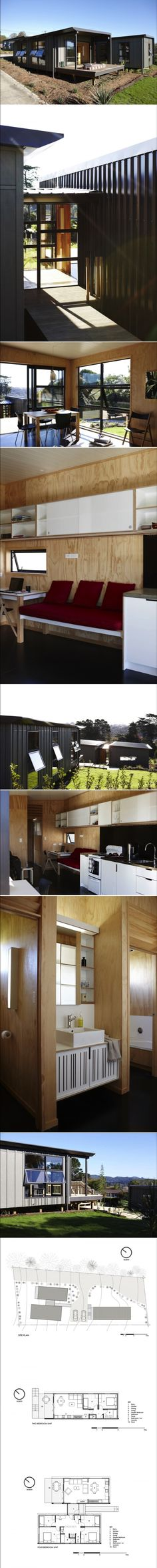 Architecture Students Also Design and Build Two Community Houses