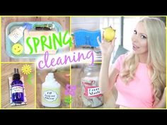 (2) 15 Awesome Cleaning Hacks + DIY Natural Cleaning Products! - YouTube
