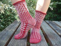 Ravelry: Swedish Heritage pattern by Maria Ekblad Fair Isle Knitting, Knitting Socks, Hand Knitting, Knitted Hats, Knitting Patterns, Knit Socks, Knitting Videos, Knitting Projects, Little Cotton Rabbits