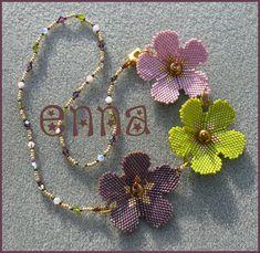 NIP flower Poppies1. would make a cute eye glass lariat