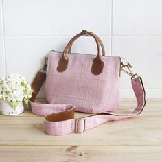 Cross-body Oversize Bags S size Hand Woven and Botanical Dyed Cotton -www.tanbagshop.com