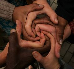 * Beautiful People*  -This photo goes to show that people of all colours can unit to form something beautiful, and that colour should have no boundaries. This is more then a picture of hands it is a symbol society coming together to end racism  #unit #OneInTheSame