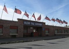 Olean Tile Company. Uncle Claire used to work here