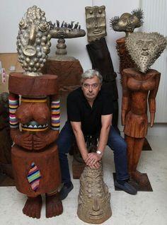 Sculptures Hervé Di rosa