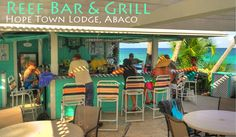 Hope Town Lodge on Elbow Cay, Abaco Bahamas.