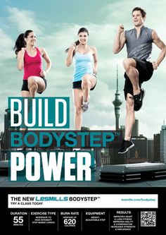 Les Mills BodyStep is killer cardio...be challenged!