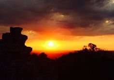 Sunset at Phnom Bakheng, Angkor - Cambodia