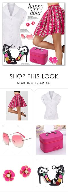 """""""Happy Hour :: Street Stile"""" by jecakns ❤ liked on Polyvore featuring Kate Spade"""
