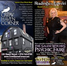 Crow Haven Corner - Salem's Oldest Witch Shop!