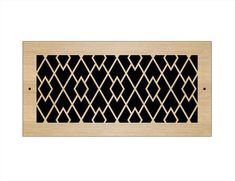 Laser Cut Wood Grilles | Pacific Register Company Laser Cut Wood, Laser Cutting, Wall Vent Covers, Types Of Wood, New Homes, Ceiling, House, Wood Types, Ceilings