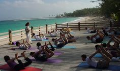 #4 -To experience at least a 2 week yoga retreat.  The bahamas would work.  A yoga class at Sivananda Ashram Yoga Retreat in The Bahamas.