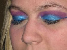 Bad makeup is, well, bad!  It's called blending, people.  And FYI, please, please do something about those brows!  So NOT Cute.