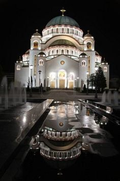 St.Sava Orthodox Cathedral in Belgrade