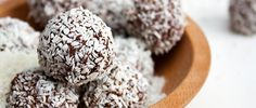 Coconut Chocolate Energy Truffle Recipe