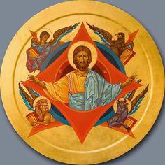 Whispers of an Immortalist: Jesus Christ 14 Religious Icons, Religious Art, Sphinx, Paint Icon, Religious Paintings, Ukrainian Art, Byzantine Icons, Catholic Art, Tarot