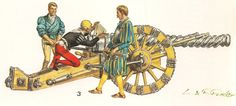 Adjusting the trajectory of a century canon with a quadrant. However, the science behind ballistics didn't really start until the middle of the next century. Renaissance Image, Italian Renaissance, Irish Images, Medieval, Early Modern Period, Landsknecht, Game Concept Art, Fantasy Rpg, Modern Warfare