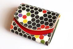 【小さい財布・極小財布】小さいふ。 ペケーニョ 亀甲 キッコウ 【日本の伝統文様シリーズ】
