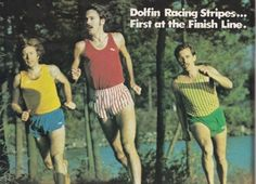 dolfin shorts…they were de rigueur in the ad: Recover Your Stride: A Mini-Tribute to Dolfin Racing Stripe Shorts Running Magazine, Action Images, Look Short, Dolphin Shorts, Running Race, Racing Stripes, Runners World, Fashion Marketing, Red And White Stripes