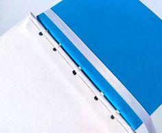 Blue Sakura Journal Cherry Blossom Notebook Sketchbook | Etsy Ribbon Bookmarks, Handmade Notebook, Creative Outlet, White Ribbon, Print Pictures, Cherry Blossom, Paper Texture, Journal, Prints