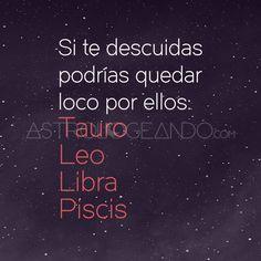 #Tauro #Leo #Libra #Piscis #Astrología #Zodiaco #Astrologeando
