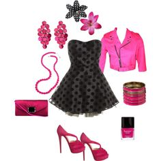 Pretty in Pink, created by swim-girl21 on Polyvore
