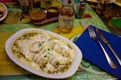 Mexican Enchiladas Verdes Recipe | Amazing Mexican Recipes....NEED TO TRY