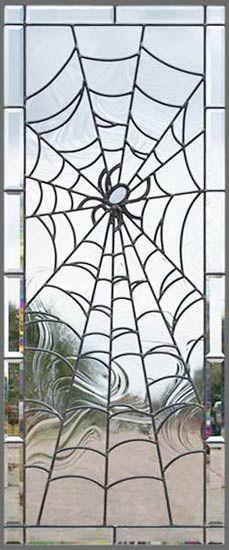 ~spider web glass