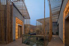 HWCD: bamboo courtyard teahouse