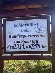 Damit die Hunde gleich wissen, wer in der Hackordnung über ihnen steht:   23 Schilder, über die keine 5 Minuten nachgedacht wurde