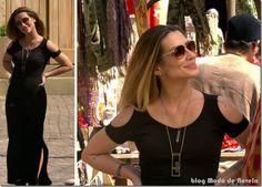 Novo vestido capadócia Moda de Novela estilo Bianca da novela Salve Jorge