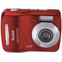Kodak Easyshare C1505 12 MP Digital Camera with 5x Digital Zoom - Red $56.36