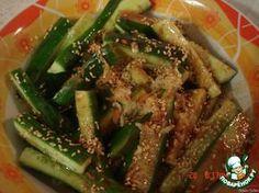 Огурцы по-корейски ингредиенты